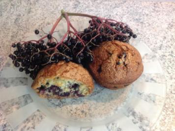 Holunderbeer - Muffins - Rezept