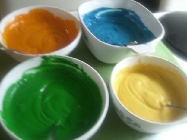 Regenbogen-Torte - Rezept - Bild Nr. 11