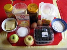 Brombeere - Apfel - Kuchen mit Zimtstreusel - Rezept - Bild Nr. 2
