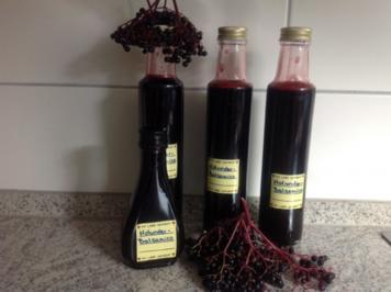 Holunder - Balsamico - Essig - Rezept