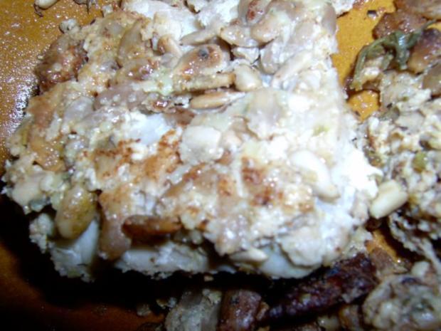 Fisch-Tempura mit Haferkleie und Sonnenblumenkernen - Rezept