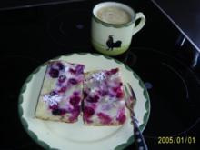 Kuchen: Beerenkuchen mit Guss und feinem Aroma - Rezept