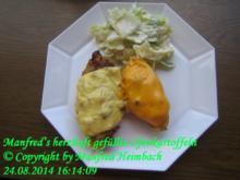 Gemüse – Manfred's herzhaft gefüllte Ofenkartoffeln - Rezept