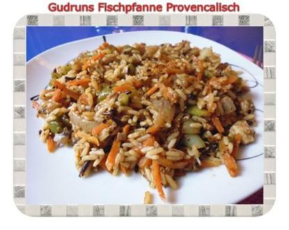 Fisch: Fischpfanne provencal - Rezept