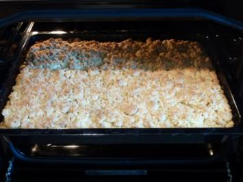 Zimt-Apfelkuchen mit extra vielen Zimtstreuseln - Rezept