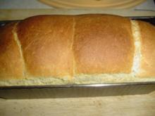 Selbstgebackenes Toastbrot - Rezept