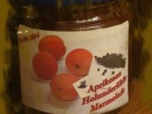 Sisserl's  * ~ *  Aprikosen – Holunder – Marmelade - Rezept