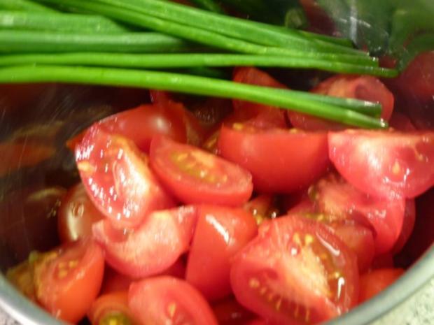 Knoblauch-Tomatenspaghetti - Rezept - Bild Nr. 2