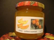 Melonen-Aprikosen Konfitüre - Rezept
