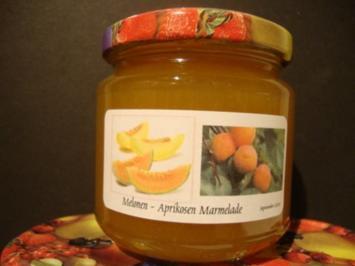 Rezept: Melonen-Aprikosen Konfitüre