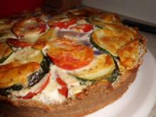 """Pizza: Gemüse-Tarte """"Punky Garden"""" - Rezept"""
