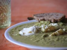 Suppe: Grüne Bohnen-Erbsen-Cremesuppe - Rezept