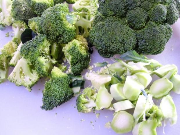Katzenfutter:  Leberle mit Broccoli und Reis - Rezept - Bild Nr. 2