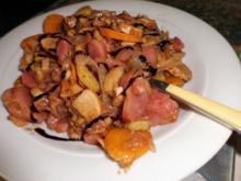 Pfannengericht: Gemüse-Pilz-Pfanne - Rezept