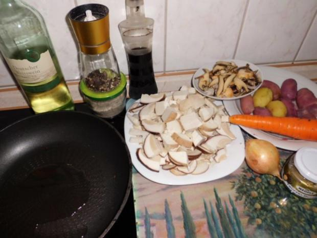 Pfannengericht: Gemüse-Pilz-Pfanne - Rezept - Bild Nr. 2