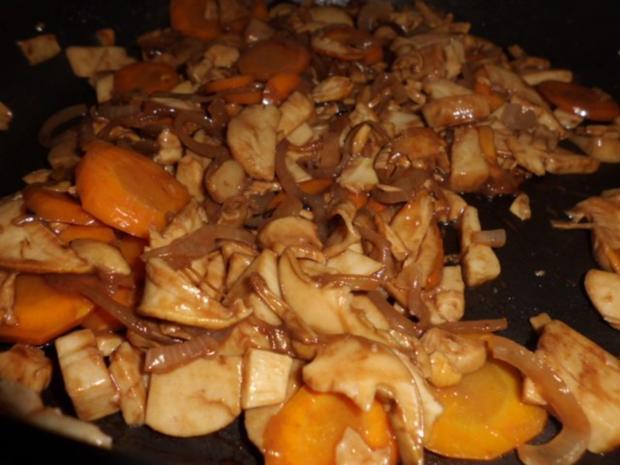 Pfannengericht: Gemüse-Pilz-Pfanne - Rezept - Bild Nr. 5