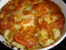 Tortellini-Mozzarella-Auflauf - Rezept