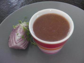 "Süße Zwiebel-Senf-Soße  ""Estragonnaise"" - Rezept"