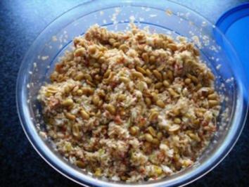 Erdnuss-Salat - Rezept