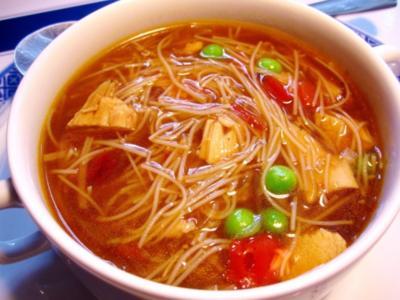 Chinesische Nudelsuppe - Rezept