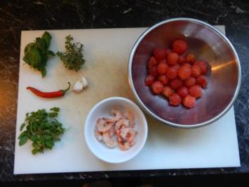 Garnelen in Chilisoße - Rezept