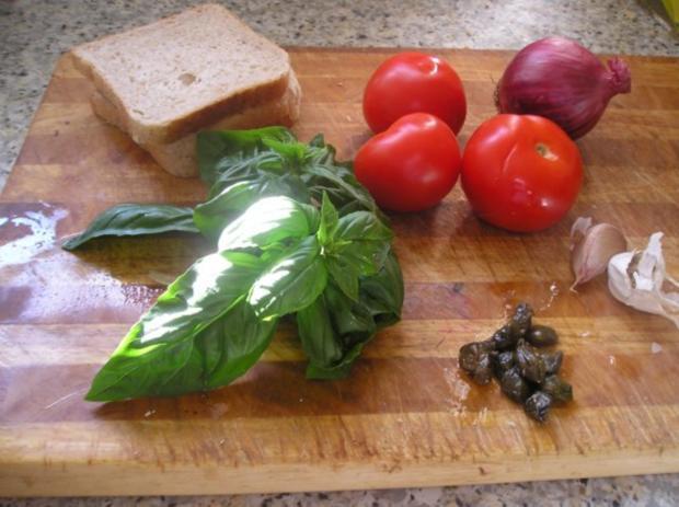 "Tomaten Brot-Salat ""Panzanella"" - Rezept - Bild Nr. 2"