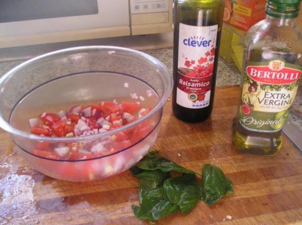 "Tomaten Brot-Salat ""Panzanella"" - Rezept - Bild Nr. 4"