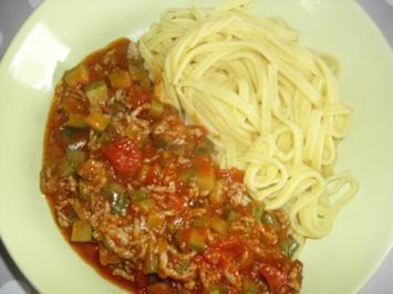Rezept: Zucchini-Hackfleisch-Pfanne