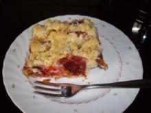 zwetschgenblechkuchen mit butterstreusel - Rezept