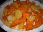 Kartoffel-Kürbis Gratin - Rezept