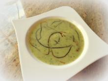 Cremige Zucchinisuppe - Rezept