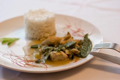 Chicken Green Curry - Rezept