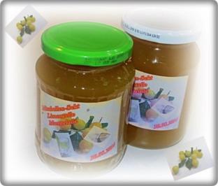 Mirabellen-Sekt-Limonncello-Marmelade - Rezept
