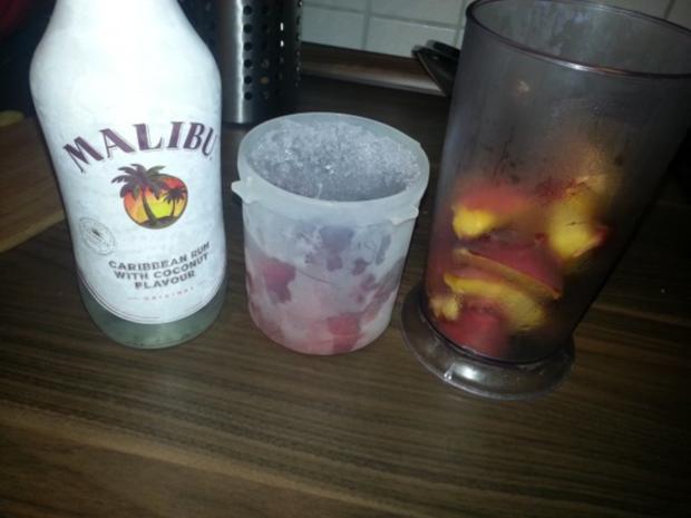Strawberry Peach Daiquiri - Rezept - Bild Nr. 2