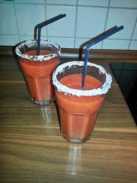Strawberry Peach Daiquiri - Rezept