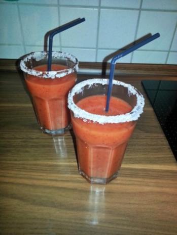 Strawberry Peach Daiquiri - Rezept