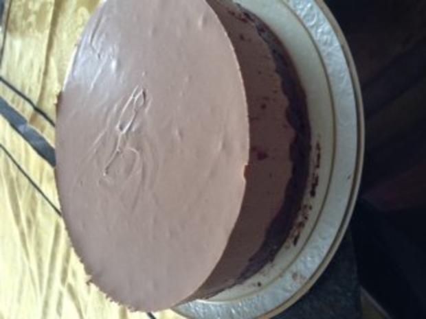 Königliche Schoko Käsesahne Torte - Rezept - Bild Nr. 5