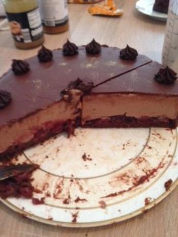 Königliche Schoko Käsesahne Torte - Rezept - Bild Nr. 6