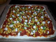 Chorizo Pizza - Rezept