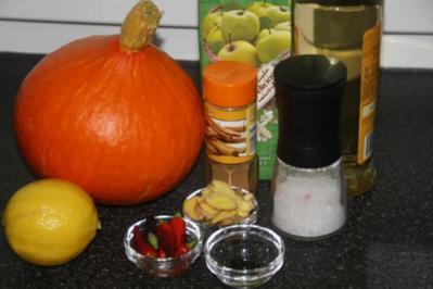 Kürbis süß-sauer eingelegt - Rezept