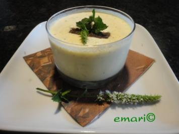After Eight Melonen Creme mit Minze - Rezept