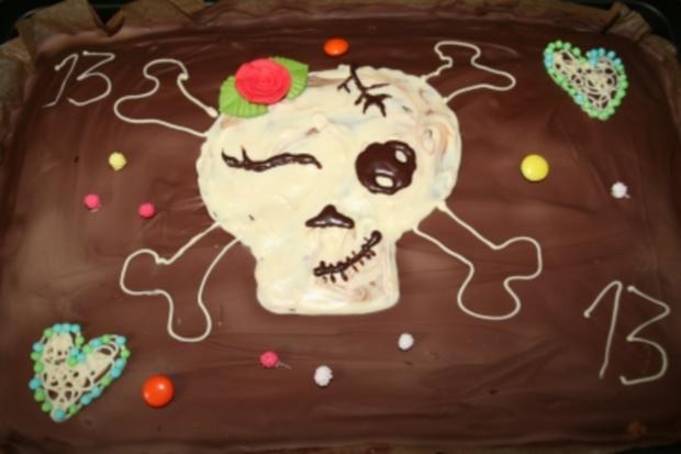 Blechkuchen für den Kindergeburtstag, Marmorkuchen - Rezept - Bild Nr. 3