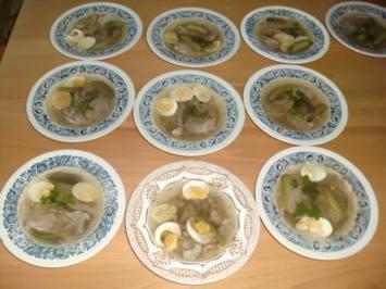 Rezept: Bayerische Schweine Sülze