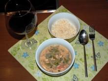 Grünes Hähnchen- Curry - Rezept