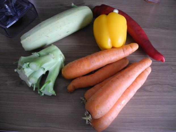 Abnehmen mit püriertem Gemüse