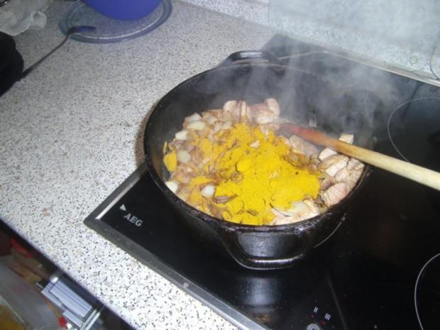 Kalb-Schweine-Curry süss-sauer - Rezept - Bild Nr. 12