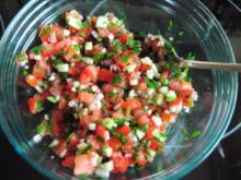 Salsa picada - gehackte Soße - Rezept