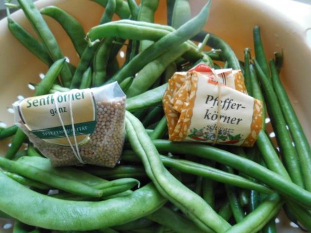 Grüne Bohnen mit Zwiebeln süß-sauer - Rezept - Bild Nr. 3