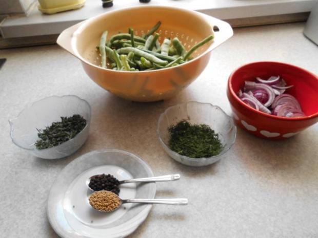 Grüne Bohnen mit Zwiebeln süß-sauer - Rezept - Bild Nr. 4