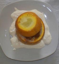Gefüllte Kugelzucchini - Rezept